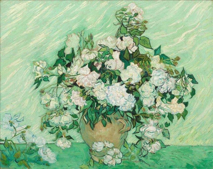 Los Lirios Y Las Rosas De Van Gogh Reunidos Por Primera Vez En