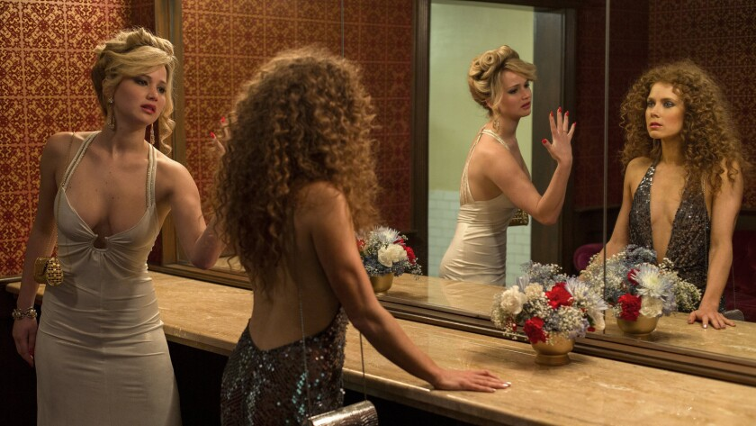 """Jennifer Lawrence's smaller share of profits for """"American Hustle"""" helped highlight pay discrepancies."""