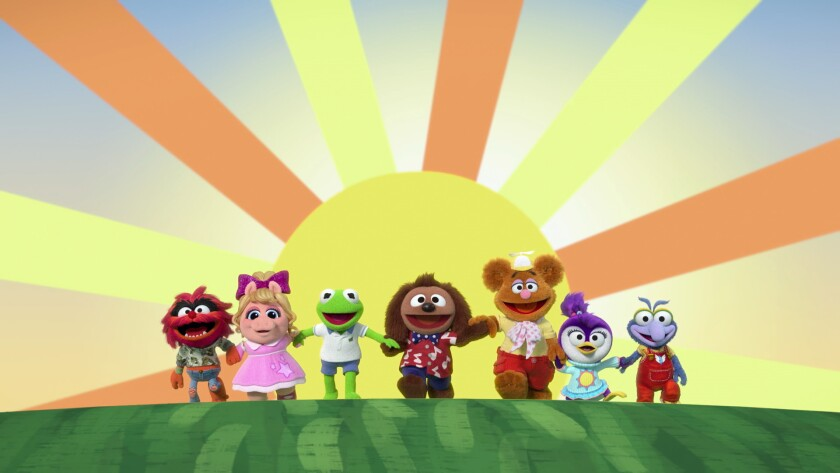 ANIMAL, PIGGY, KERMIT, ROWLF THE DOG, FOZZIE, SUMMER, GONZO