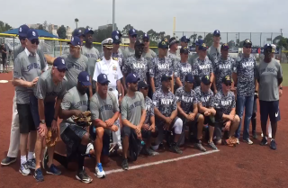 Padres alums to play U.S. Navy All-Stars softball team