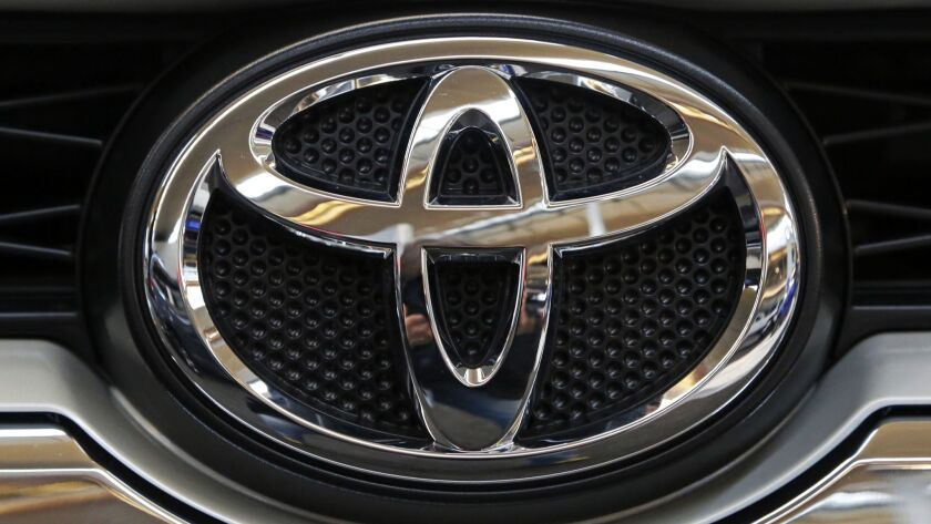 Toyota said most of its U.S. models should come equipped with vehicle-to-vehicle communication by the mid-2020s.