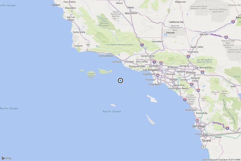 Earthquake: 3.0 quake strikes near Port Hueneme, Calif.