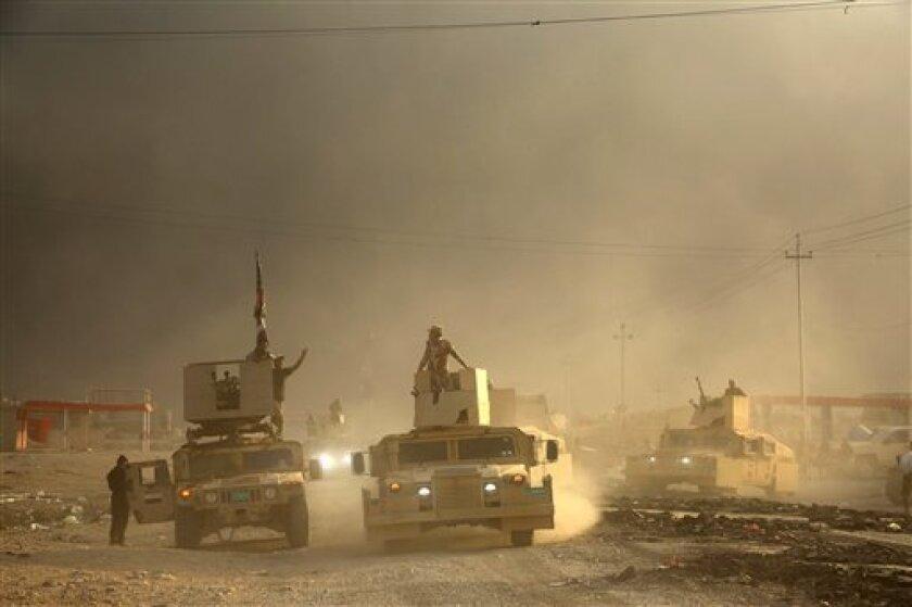 Las fuerzas antiterroristas iraquíes tomaron hoy el control del centro de la estratégica ciudad de Bartala, situada a unos ocho kilómetros al este de Mosul, según el jefe de las operaciones conjuntas, el comandante Taleb Shaghani.