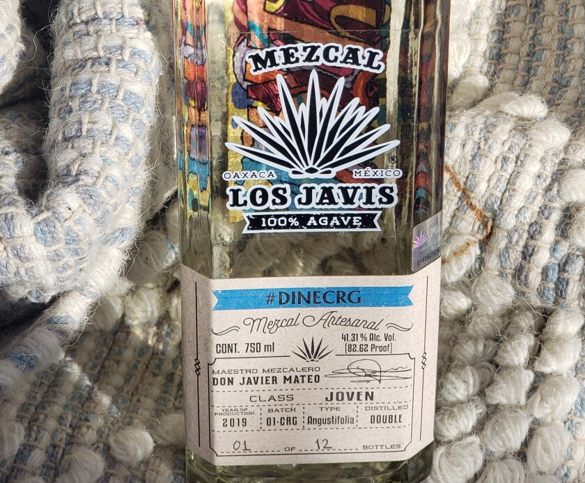 The Los Javis #DINECRG proprietary mezcal was created after a trip to the Oaxaca producer's facility by Cohn Restaurant Group beverage director Maurice DiMarino and eight bar managers.