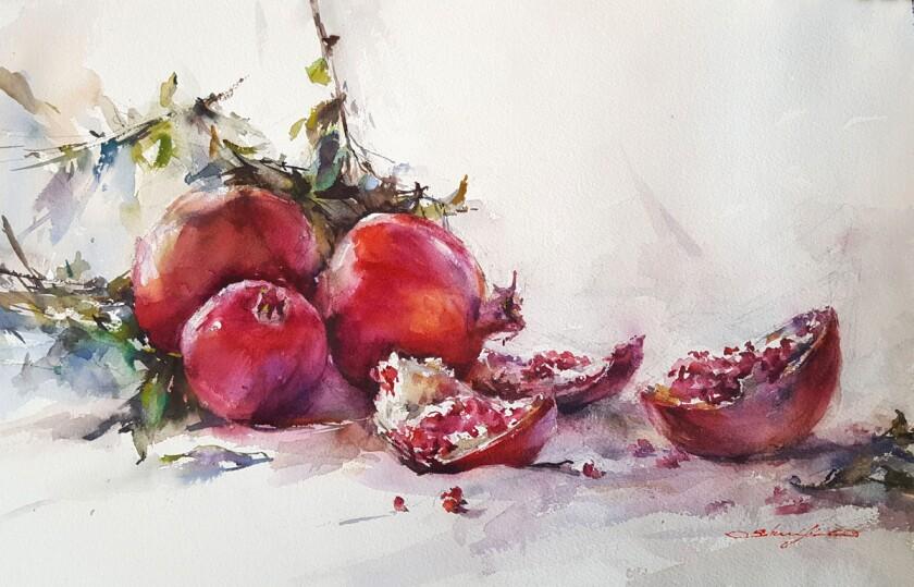 """""""Garden Fresh"""" by Shuang Li."""