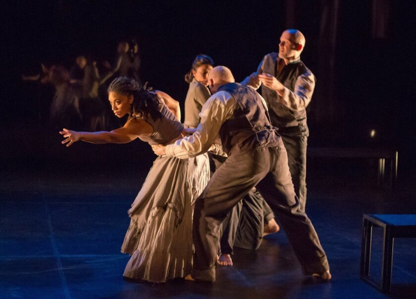 One of the highlights of WoW Festival 2015 at La Jolla Playhouse is 'Healing Wars,' a dance/theater piece by choreographer Liz Lerman, in an exploration of how soldiers and healers cope with physical and psychological wounds of war.