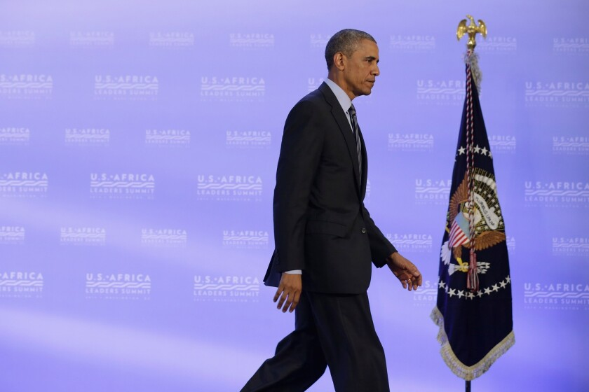 During a wide-ranging news conference, President Obama defended his use of executive authority.