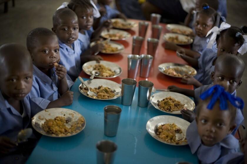 Chronic hunger in Haiti