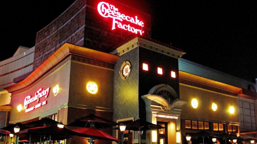 You can run from the dulce de leche cheesecake at the Cheesecake Factory, but you can no longer hide