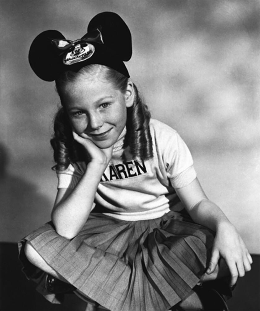 Karen Pendleton, original Mouseketeer who became advocate for disabled people, dies at 73