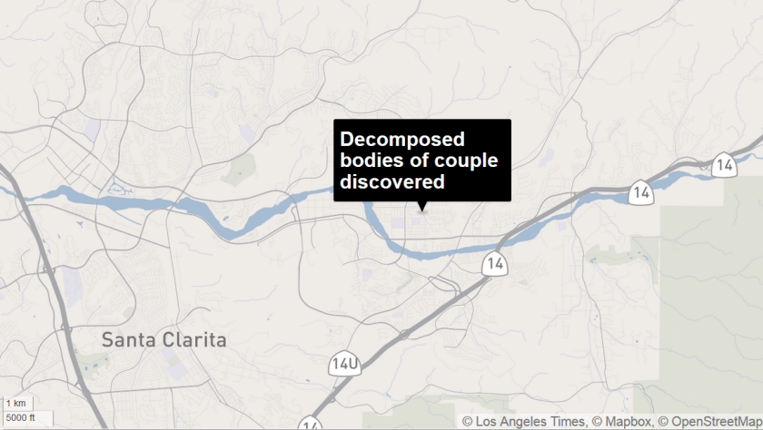 Decomposed bodies of couple discovered