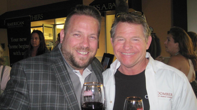 Patrick McIlvain, Skip Coomber (Coomber Family Wines)