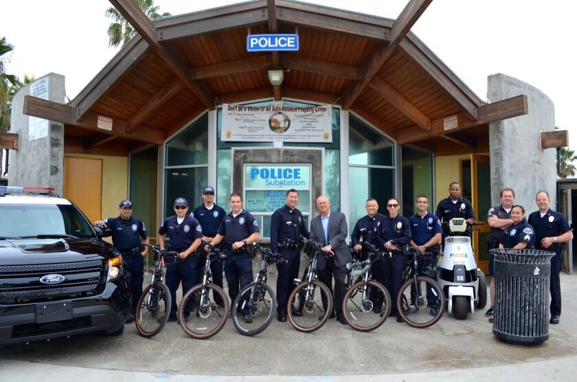 LAPD patrols