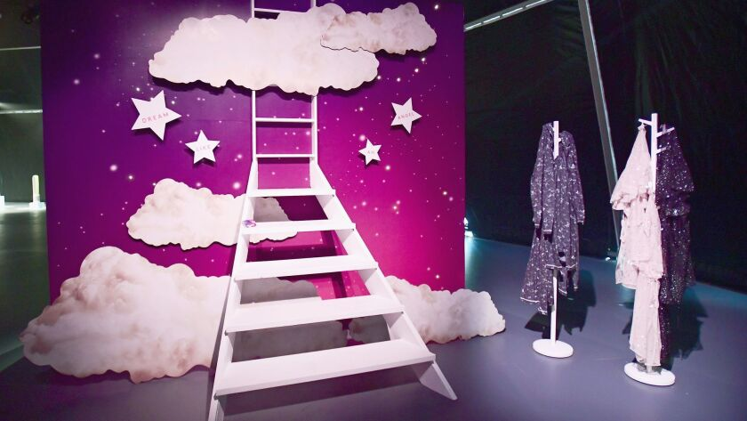 "Victoria's Secret's ""Dream Like an Angel"" display at 29Rooms."