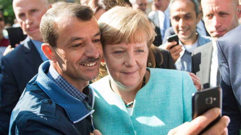 A retrospective on German Chancellor Angela Merkel in pictures, Berlin, Germany - 10 Sep 2015