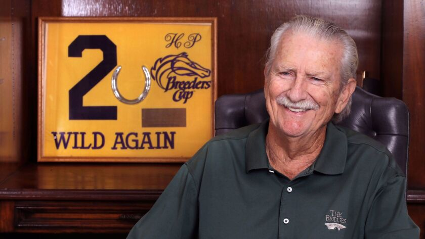 Rancho Santa Fe resident Terry Beall was co-owner of Wild Again when the 31-1 longshot stunned horse racing during the inaugural Breeders' Cup Classic at Hollywood Park in 1984.