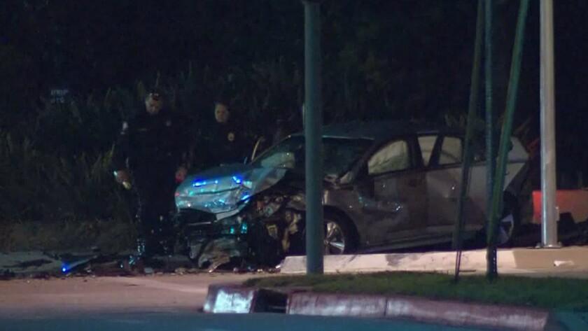 Pasadena crash