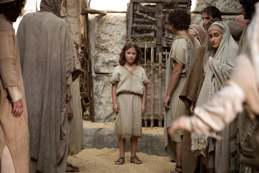 """Adam Greaves-Neal stars as Jesus in the movie """"The Young Messiah."""""""