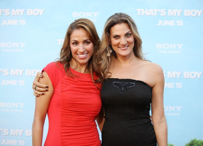 Julia Wolov and Dana Goodman