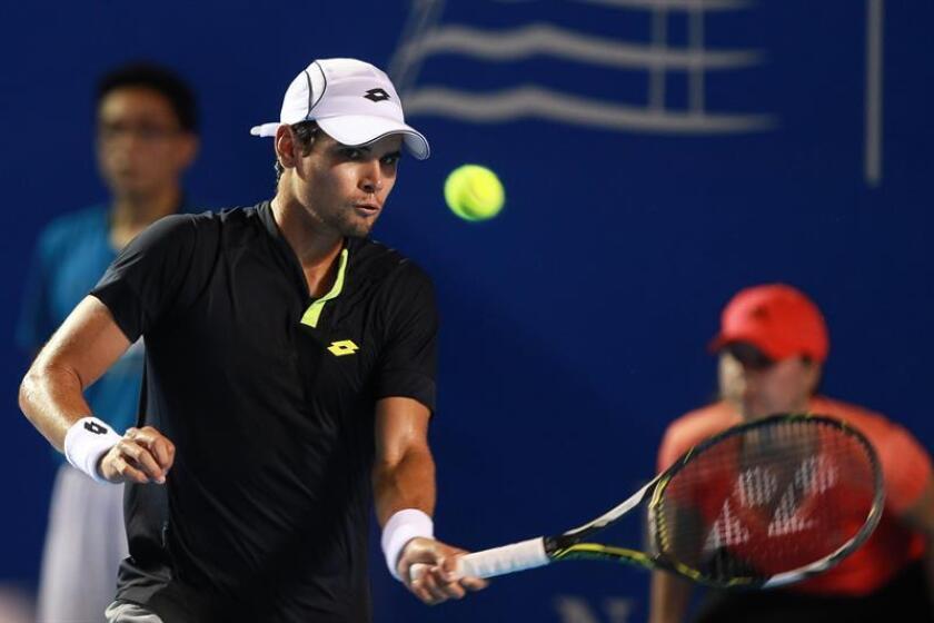 El tenista mexicano Lucas Gómez. EFE/Archivo
