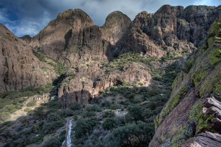 Dripping Springs waterfall