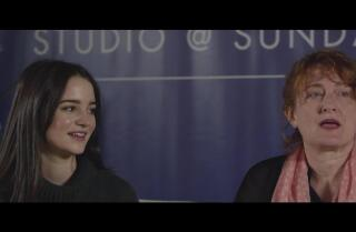 Jennifer Kent and Aisling Franciosi of 'The Nightingale'