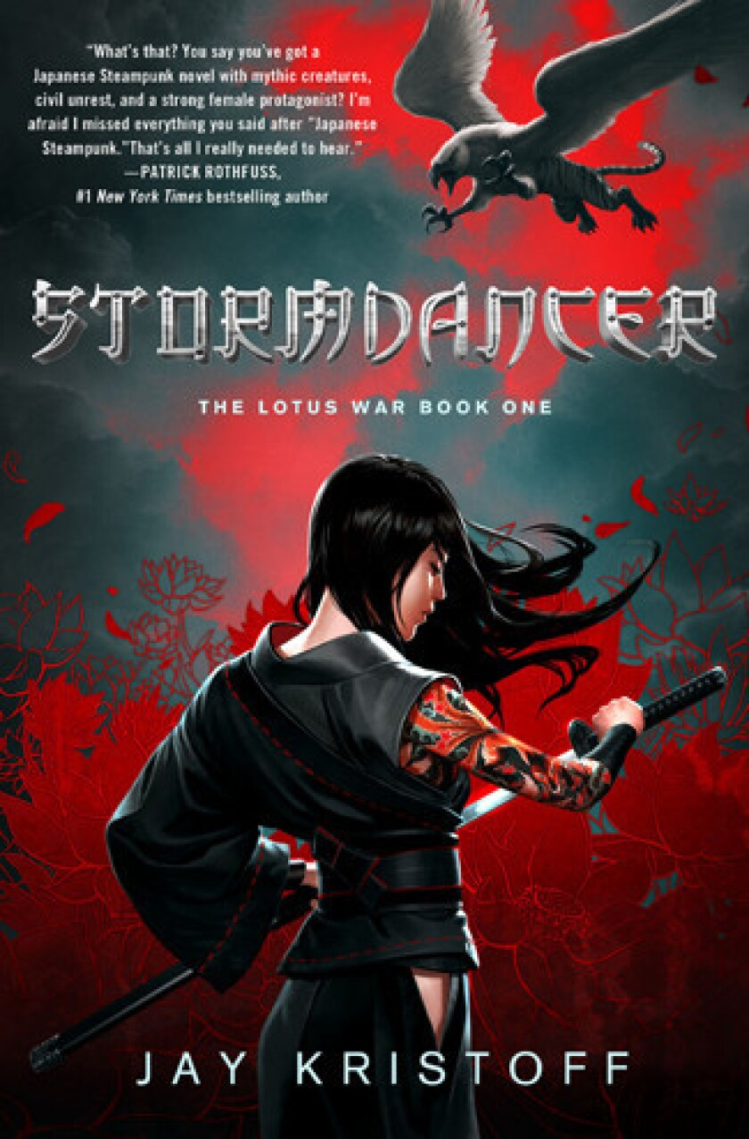 'Stormdancer' by author Jay Kristoff