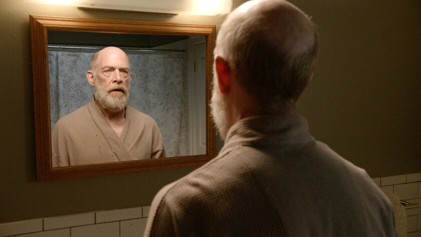 """J.K. Simmons (Steve) in a scene from """"I?m Not Here,"""" directed by Michelle Schumacher. A Rubber Tree"""