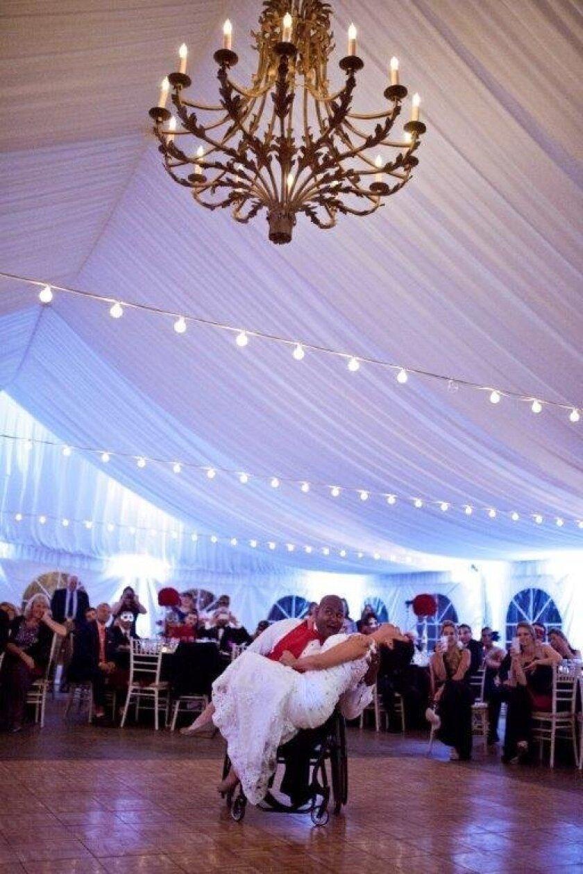 Newlyweds Lisa and Toran Gaal had a very special wedding dance.