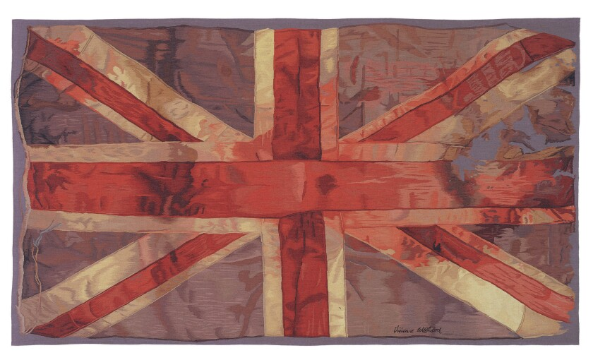 Vivienne Westwood's Union Jack design for The Rug Company. Credit: The Rug Company
