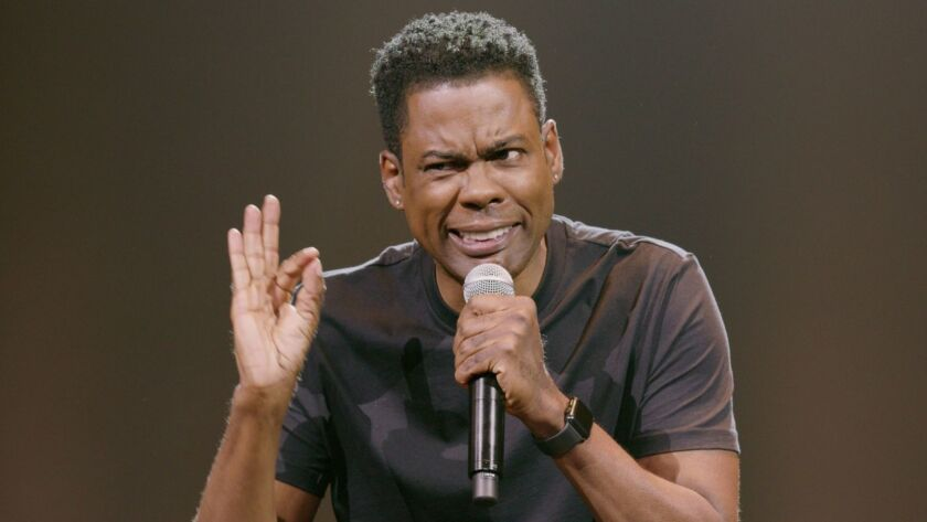 "Chris Rock in ""Chris Rock: Tamborine."" Emmy and Grammy award-winning comedian Chris Rock, who redefi"