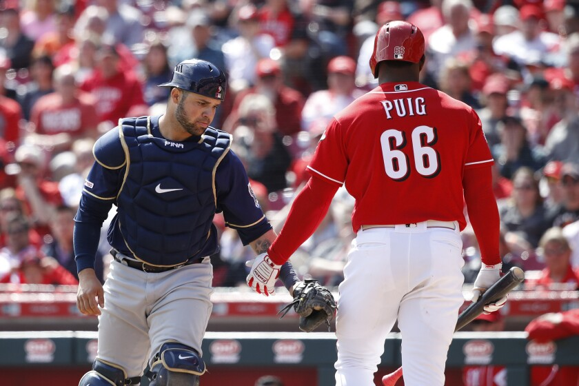 Milwaukee Brewers v Cincinnati Reds