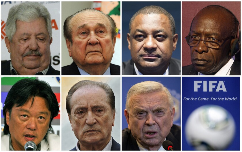 FIFA corruption charges