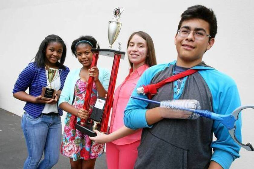 Work paid off for Watts winners in national engineering contest