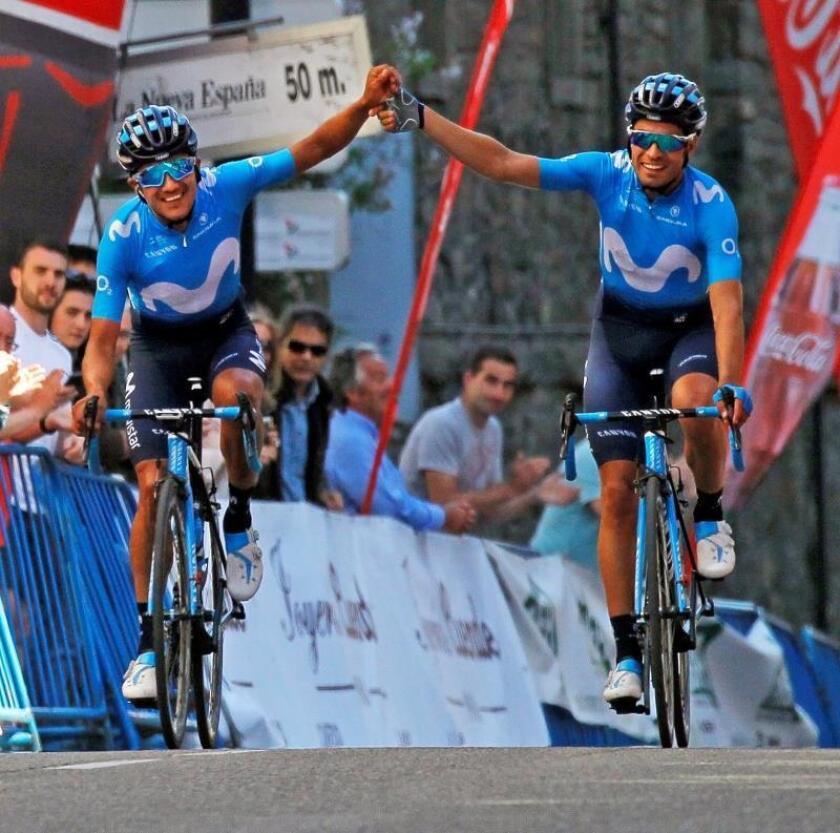 Richard Carapaz, nuevo líder de la Vuelta a Asturias al ganar la etapa reina