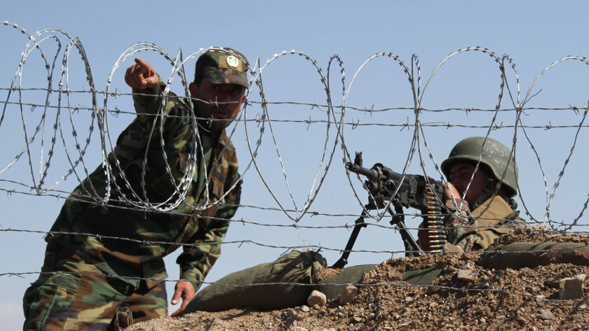 Afghan national army training, Herat, Afghanistan - 03 Mar 2019