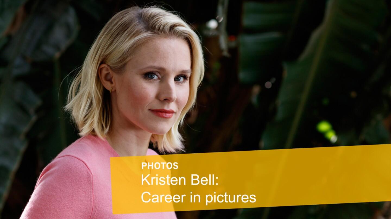 Kristen Bell: Career in pictures