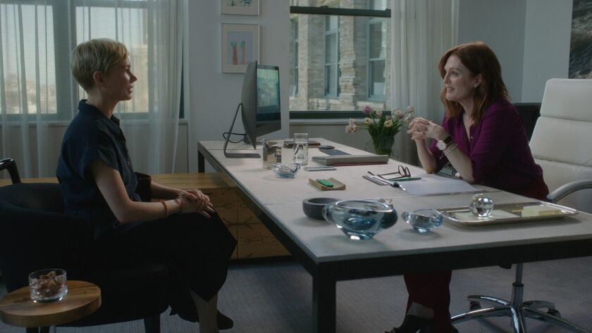 Michelle Williams and Julianne Moore appear in <i>After The Wedding</i> by Bart Freundlich, an offic