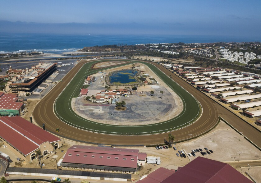 The Del Mar Thoroughbred Club will have a different look for opening day.
