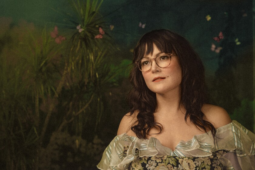 """The newest solo album from singer, songwriter and fiddle-player Sara Watkins is """"Under the Pepper Tree."""""""