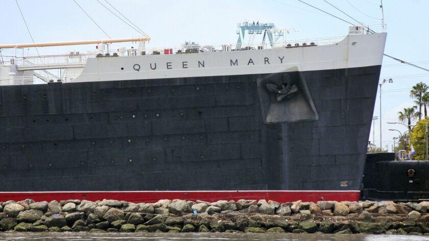 Instead of taking patrons to the Queen Mary in Long Beach on Thursday night, a shuttle bus driver traveled to Carson.