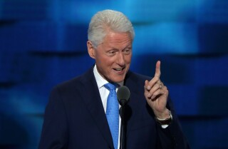 A love story and the case for a president: Watch Bill Clinton praise Hillary Clinton at the Democratic National Convention