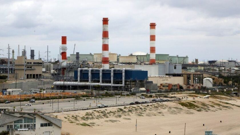 The Scattergood gas plant is one of three the DWP is leaning toward rebuilding. It sits in an El Segundo community plagued by pollution.