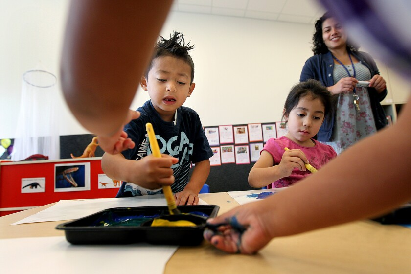 SB 837 would create a new program ¿ universal transitional kindergarten ¿ for all 4-year-olds.