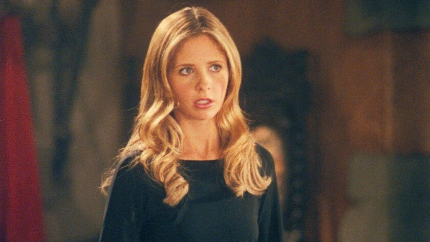 The series premiere of 'Buffy the Vampire Slayer' is like 'Clueless