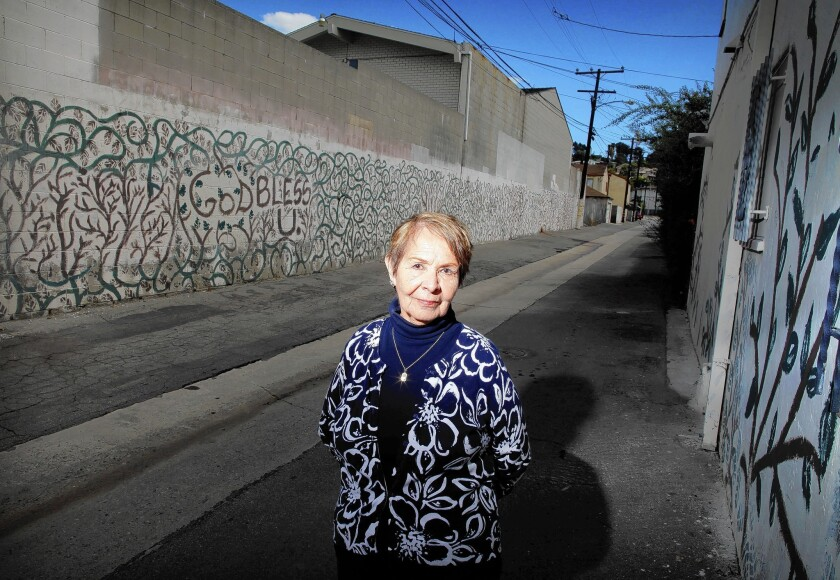 Gloria Chavez, 80, has spent three decades fighting for her hillside community of City Terrace in East Los Angeles. She first organized her neighbors 28 years ago to lobby then-Supervisor Ed Edelman to replace a dilapidated county library.