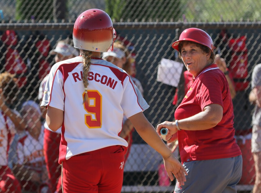 Margaret Mauro leaves as Cathedral Catholic softball coach with a 777-334-13 record and nine section titles.