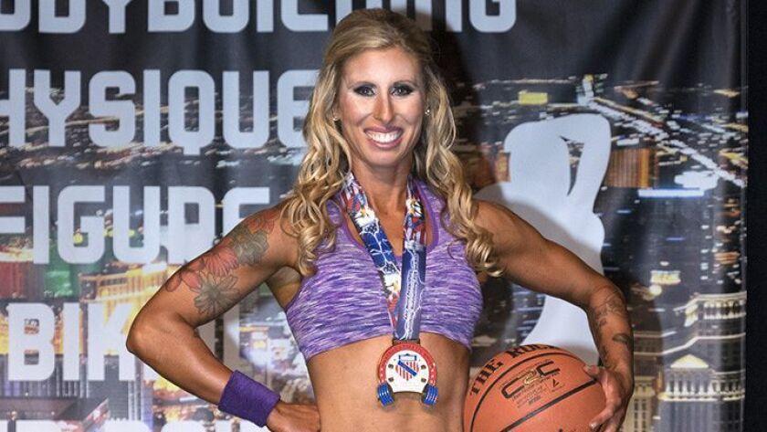 Megan Johnson, body builder
