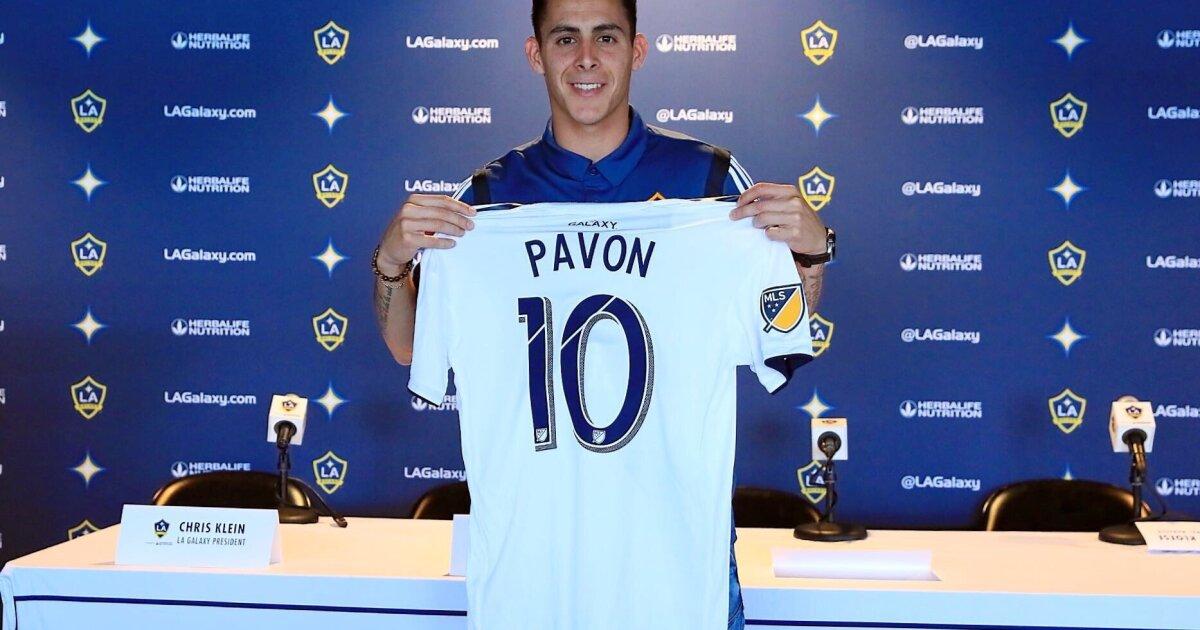 Pavón jugará un año más a préstamo con Galaxy - San Diego Union-Tribune en Español