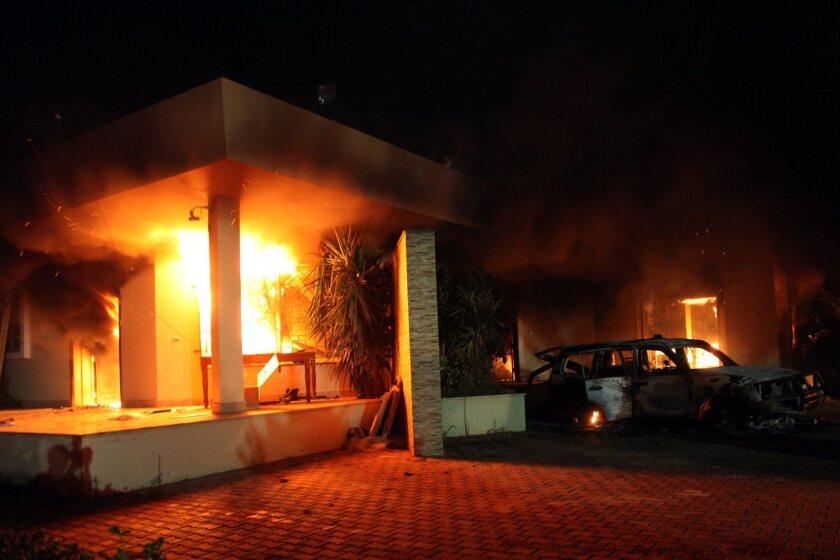 U.S. consulate in Benghazi attacked